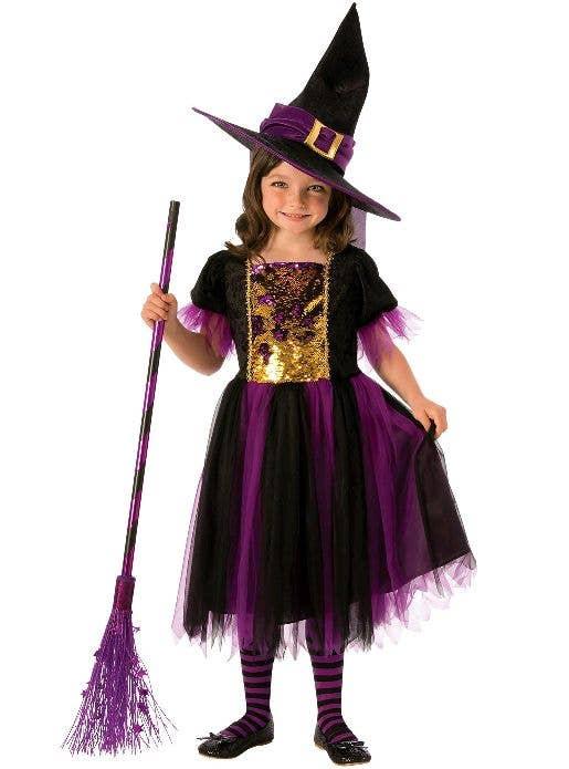 Ladies Purple Vampire Lady Vamp fancy dress costume womens Halloween 8 10