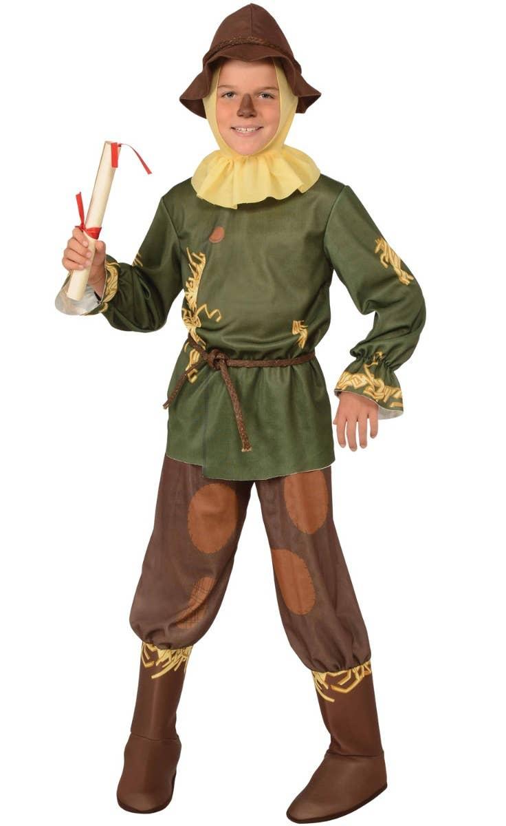 Boys Wizard of Oz Scarecrow Fancy Dress Costume