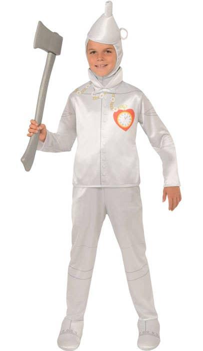 Boys Wizard of Oz Tin Man Fancy Dress Costume