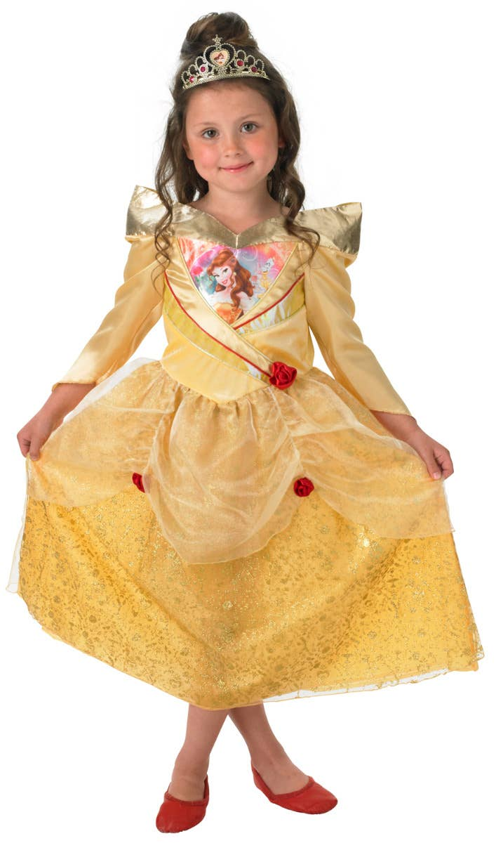 Girls Disney Princess Belle Beauty and the Beast Costume