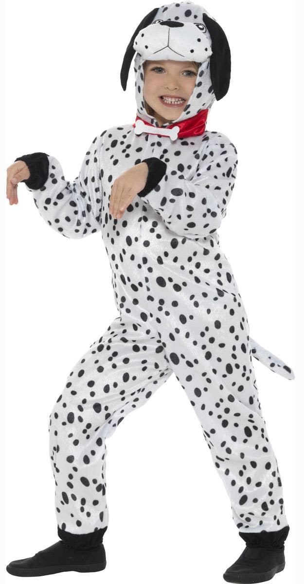 Kids Dotty Dalmatian Fancy Dress Animal Costume