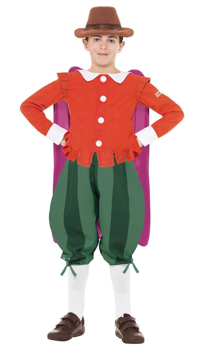 Boys Guy Fawkes Horrible Histories Fancy Dress Costume