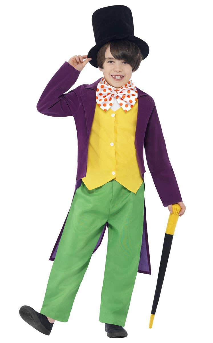 Willy Wonka Boys Fancy Dress Costume