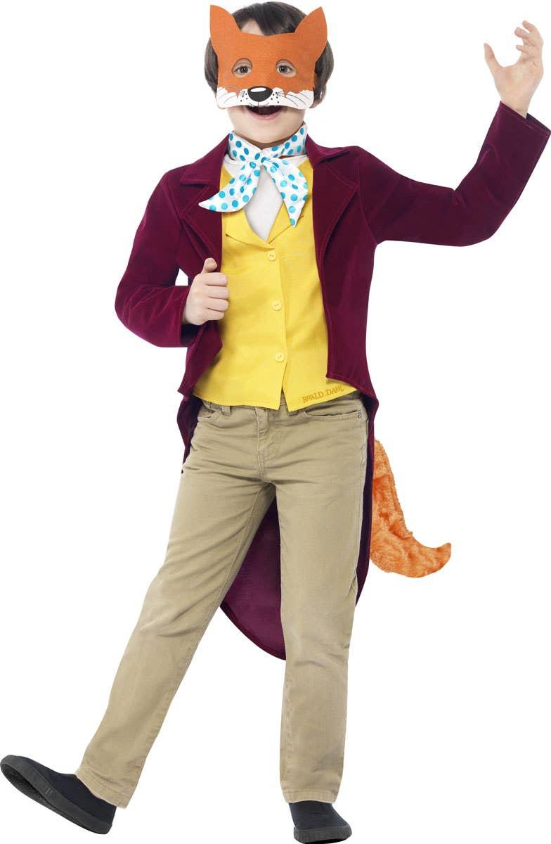 Boys Fantastic Mr Fox Fancy Dress Costume