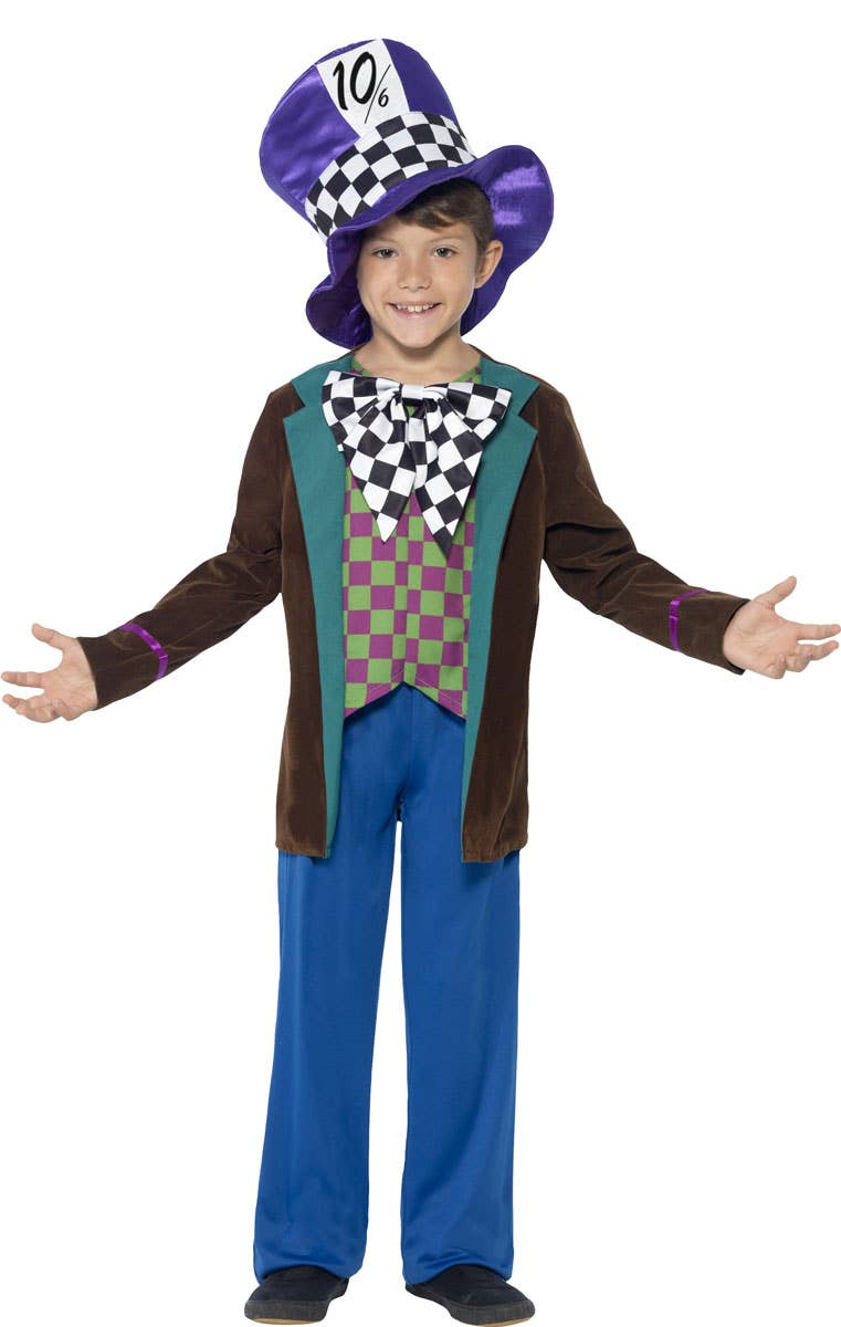 Boys Mad Hatter Book Week Costume
