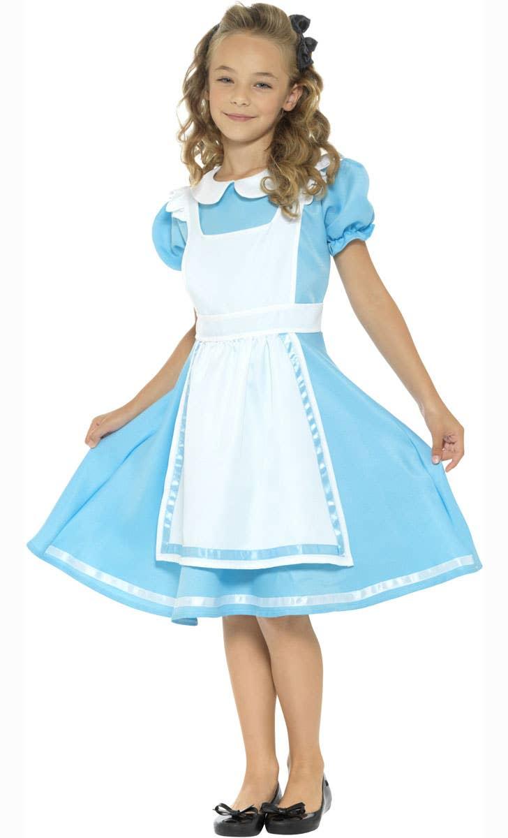 Wonderland Princess Girls Alice in Wonderland Book Week Costume