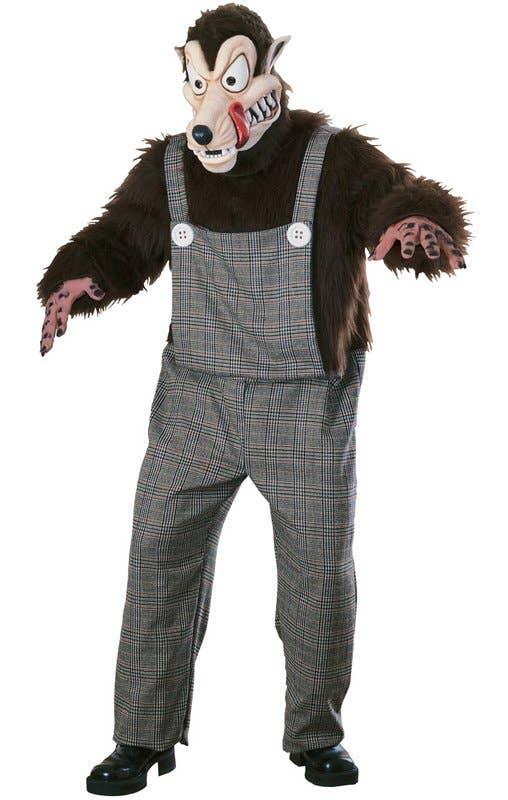 Big Bad Wolf Men's Fancy Dress Costume