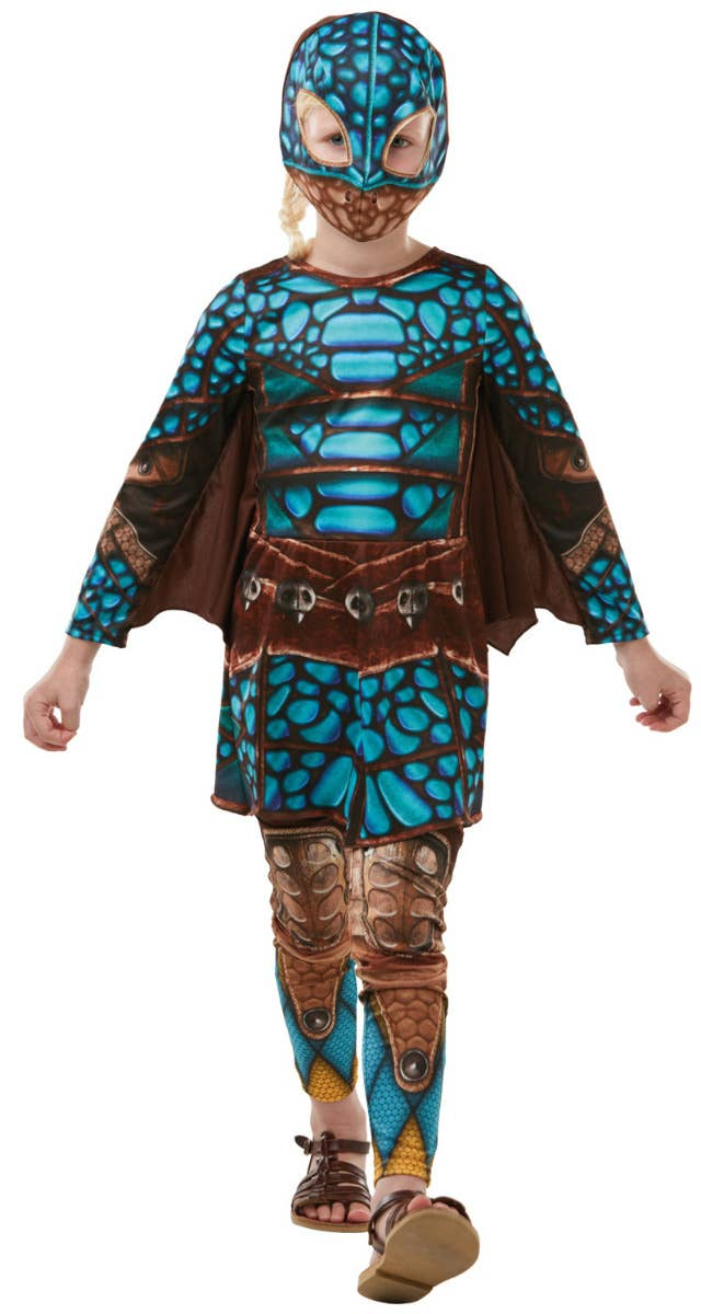 Girls Astrid Scale How to Train Your Dragon 3 Costume