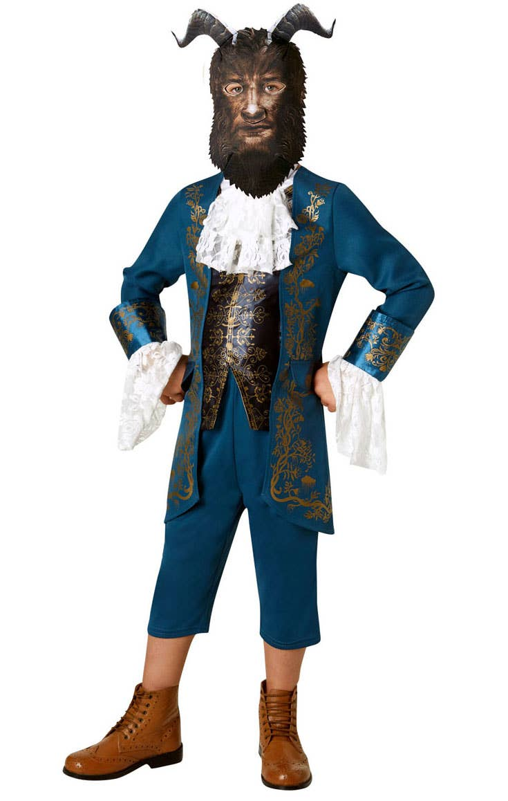 Boys Beast from Beauty and the Beast Fancy Dress Costume