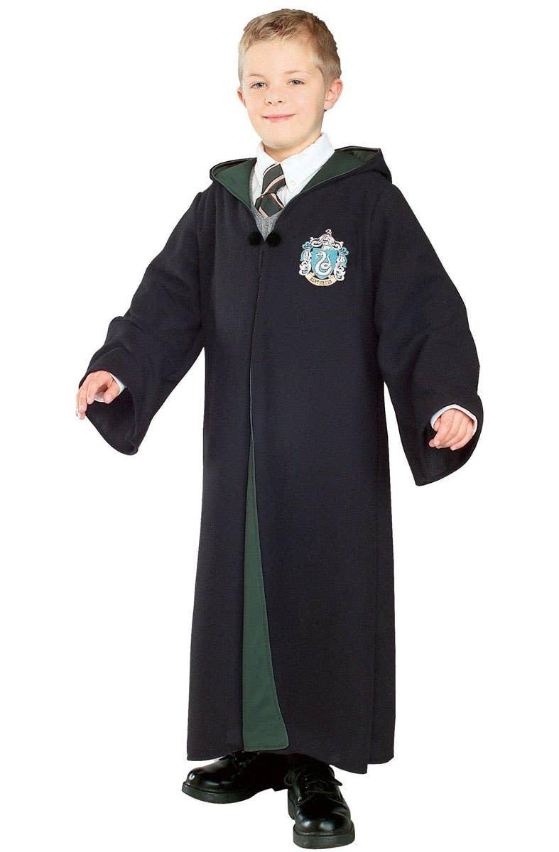 Boys Slytherin Costume Robe from Harry Potter