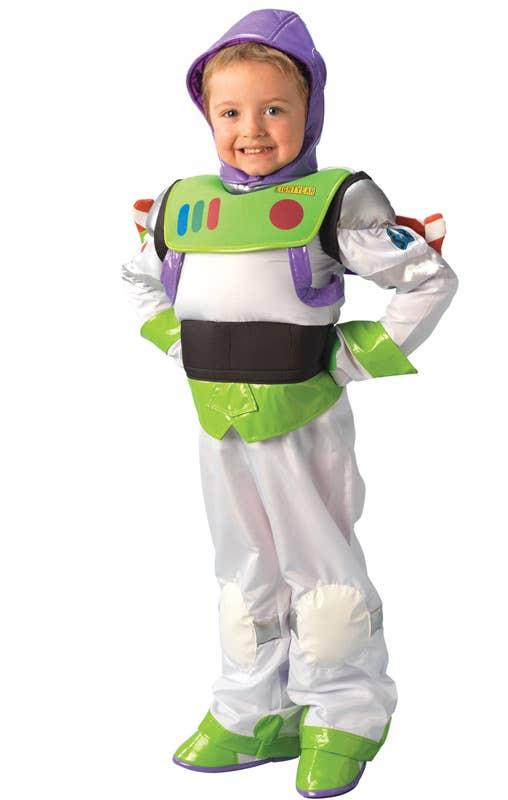 Boys Deluxe Toy Story Buzz Lightyear Fancy Dress Costume