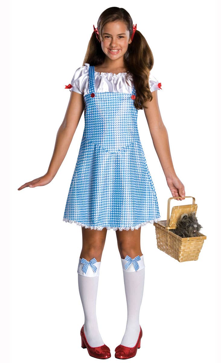 Girls Sequined Dorothy Book Week Costume for 2019