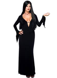 Morticia Character Halloween Costumes