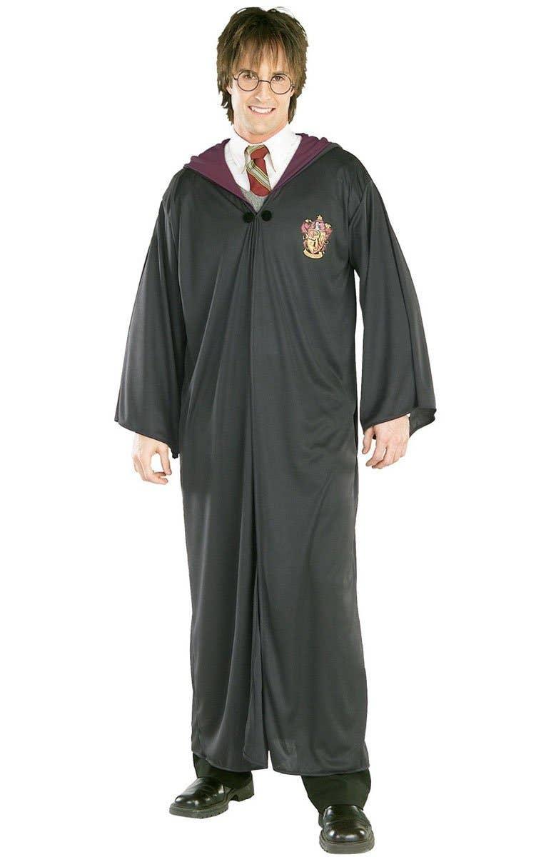 Men's Harry Potter Gryffindor Robe Fancy Dress Costume