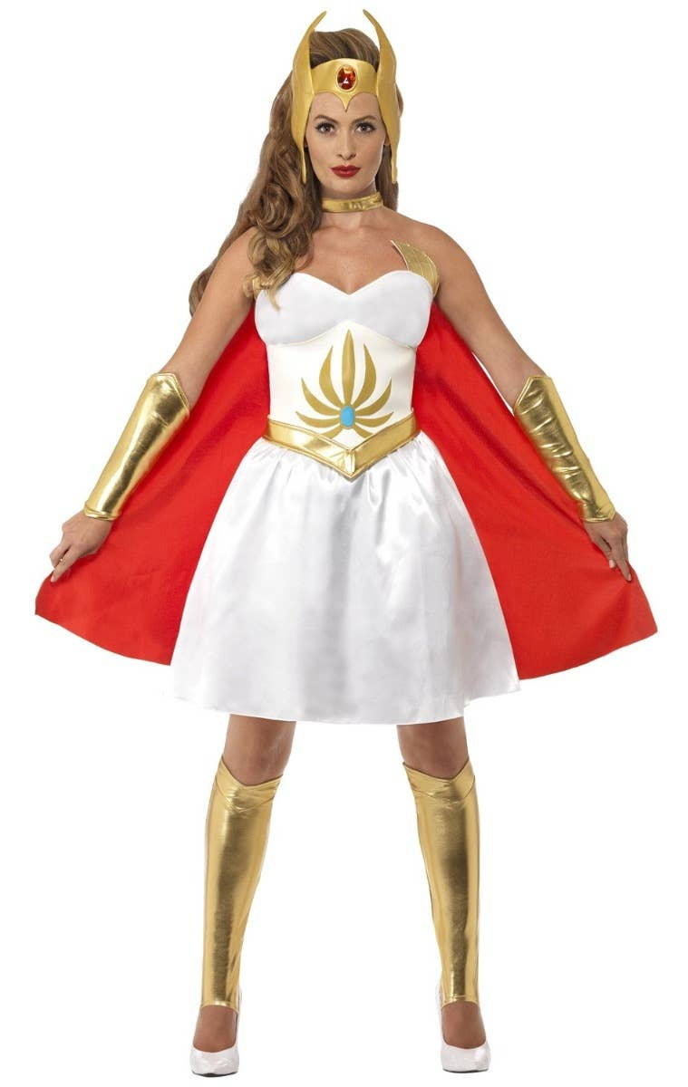 Women's She-Ra Masters of the Universe Fancy Dress Costume