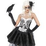 Spooky Skelly Von Trap Women's Halloween Costume