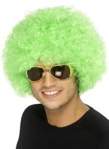 Afro St. Patrick's Day Costume Wig