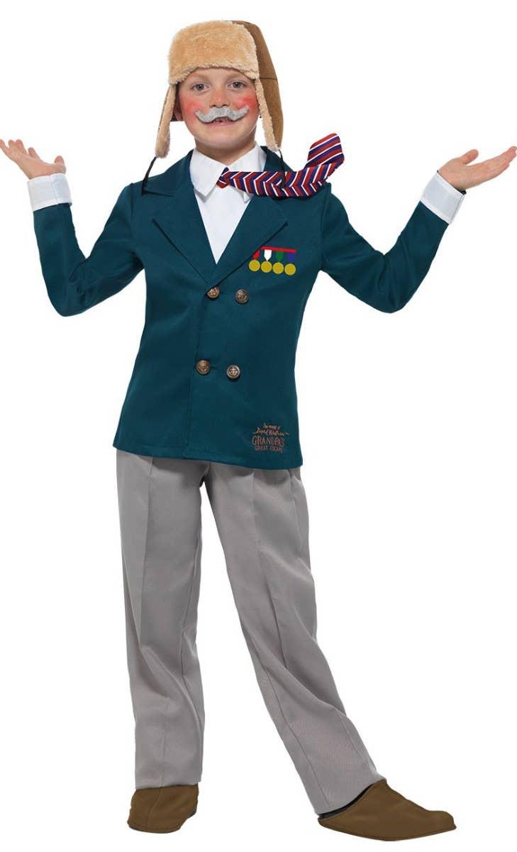 David Walliams Grandpas Great Escape Kids Costume