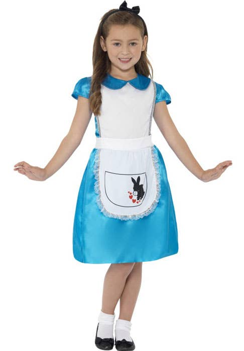 Wonderland Princess Girls Alice Book Week Costume