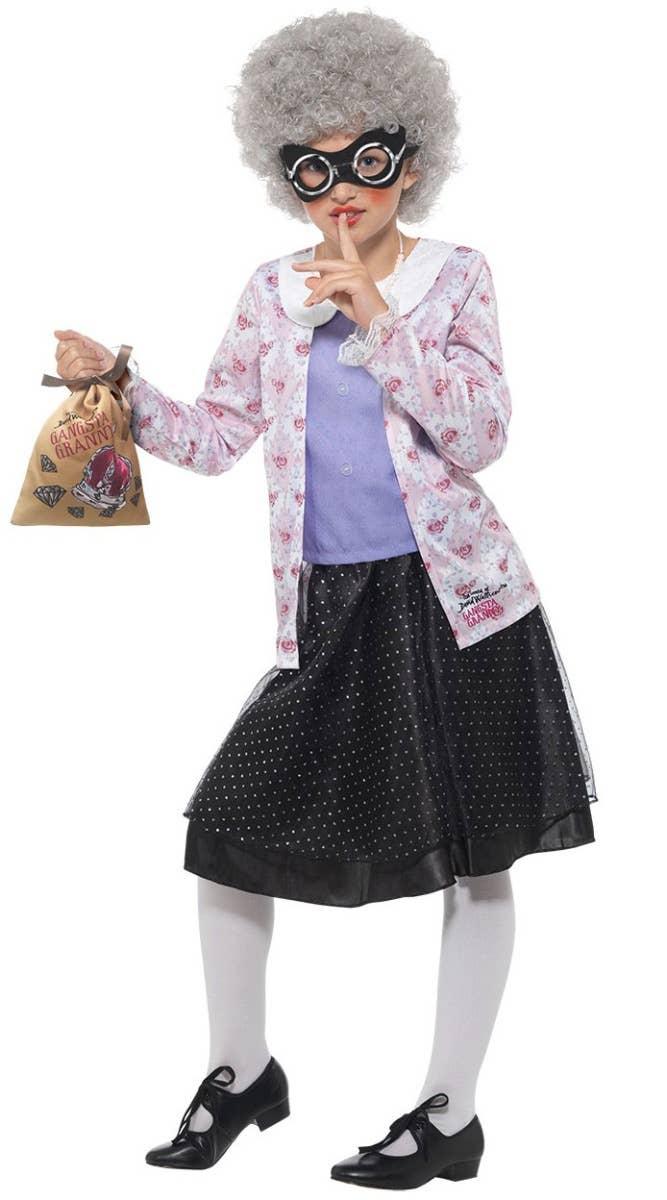 Kids Gangsta Granny David Walliams Fancy Dress Costume