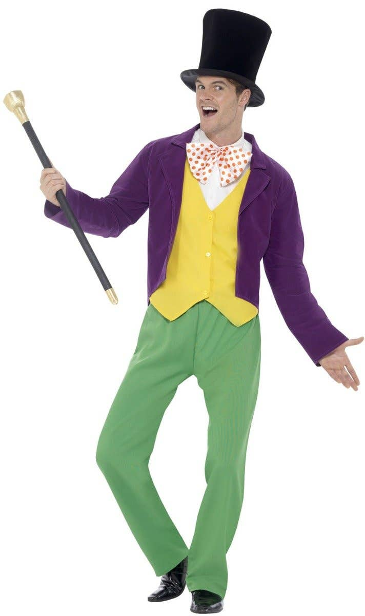 Willy Wonka Fancy Dress Costume for Adults