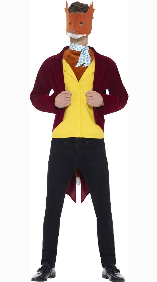 Men's Fantastic Mr Fox Fancy Dress Costume