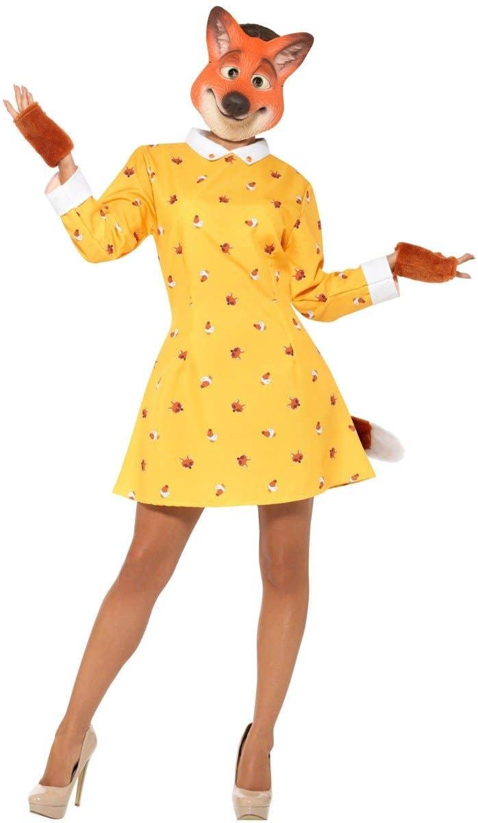 Felicity Fox Women's Fancy Dress Costume