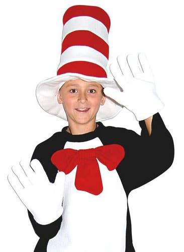 Kids Cat in the Hat Fancy Dress Costume Kit