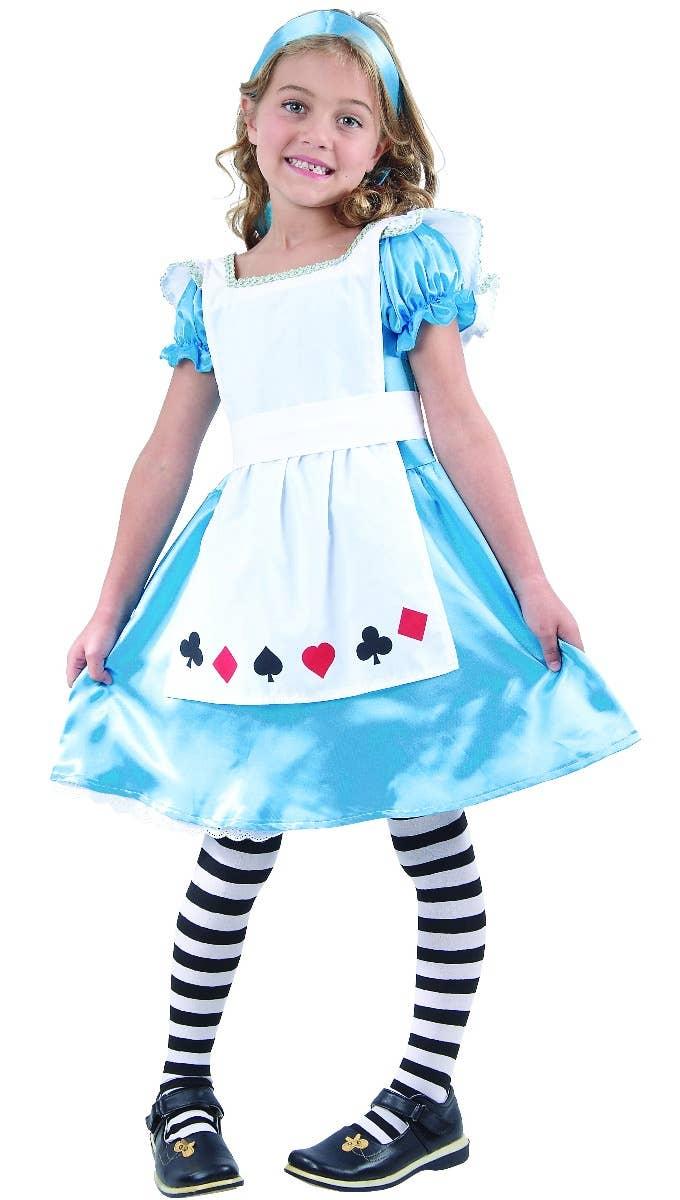 Sweet Alice in Wonderland Girls Book Week Costume